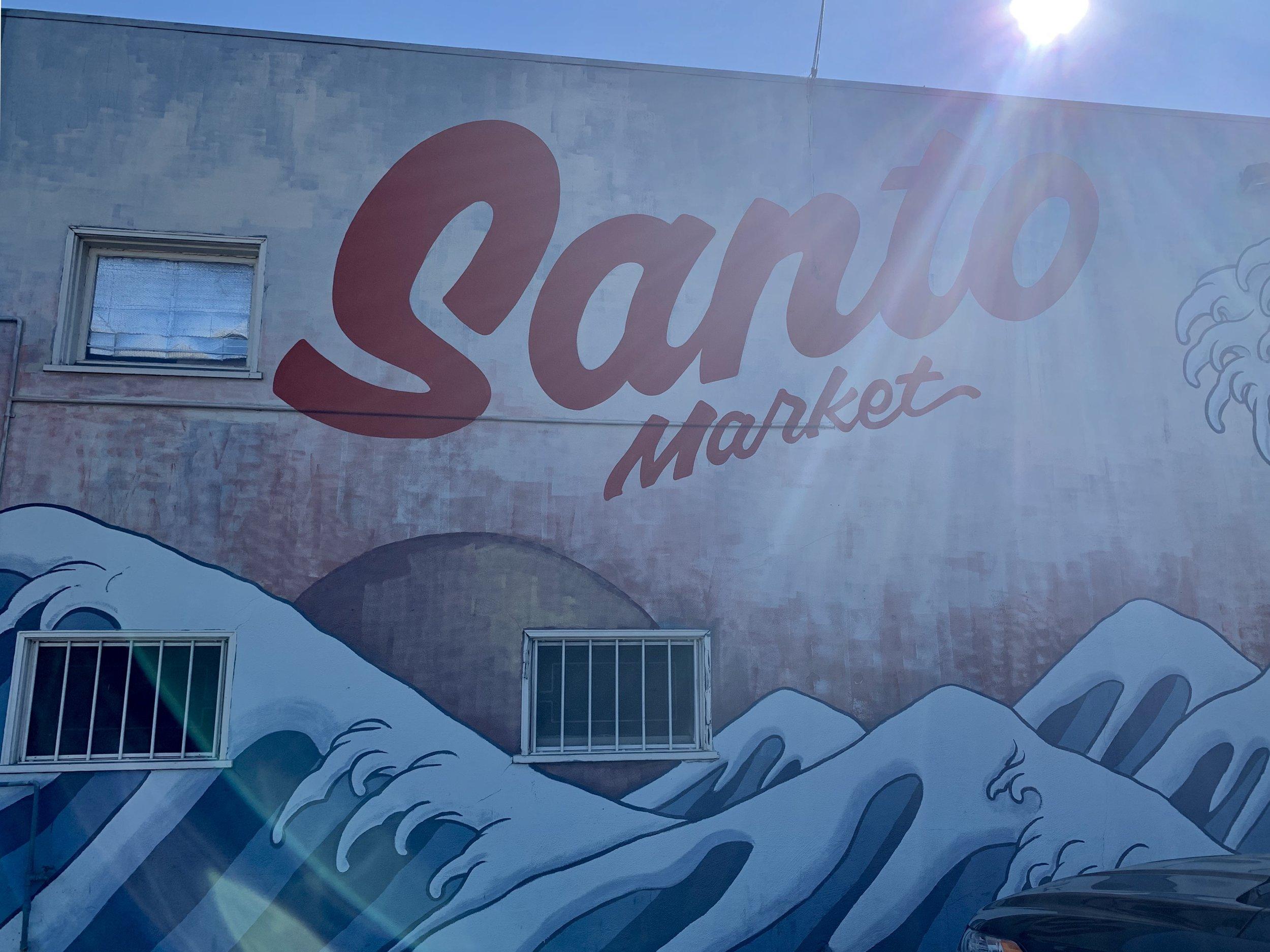 The Santo Market in 2019