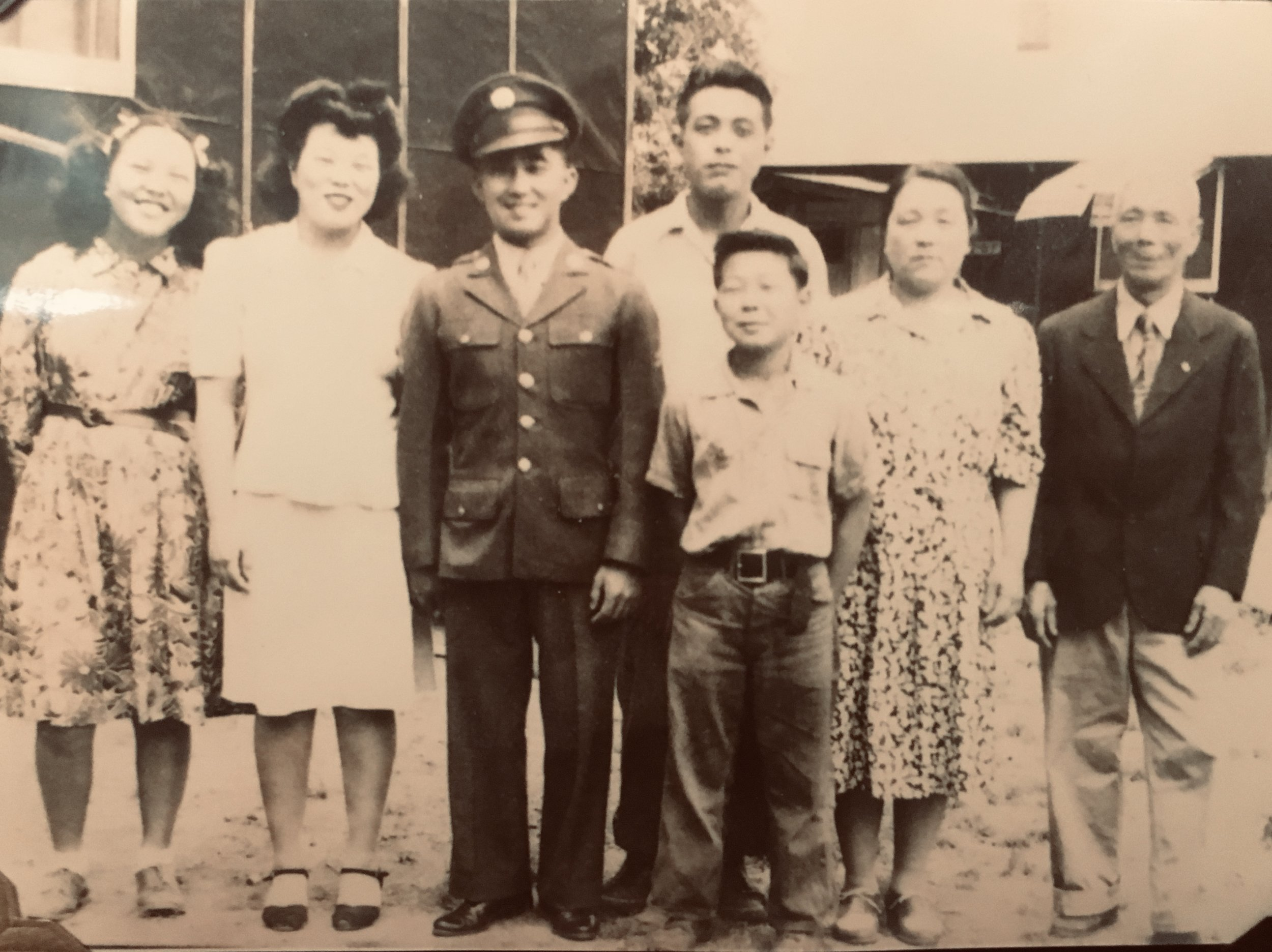 The Matsuzaki family in Rohwer