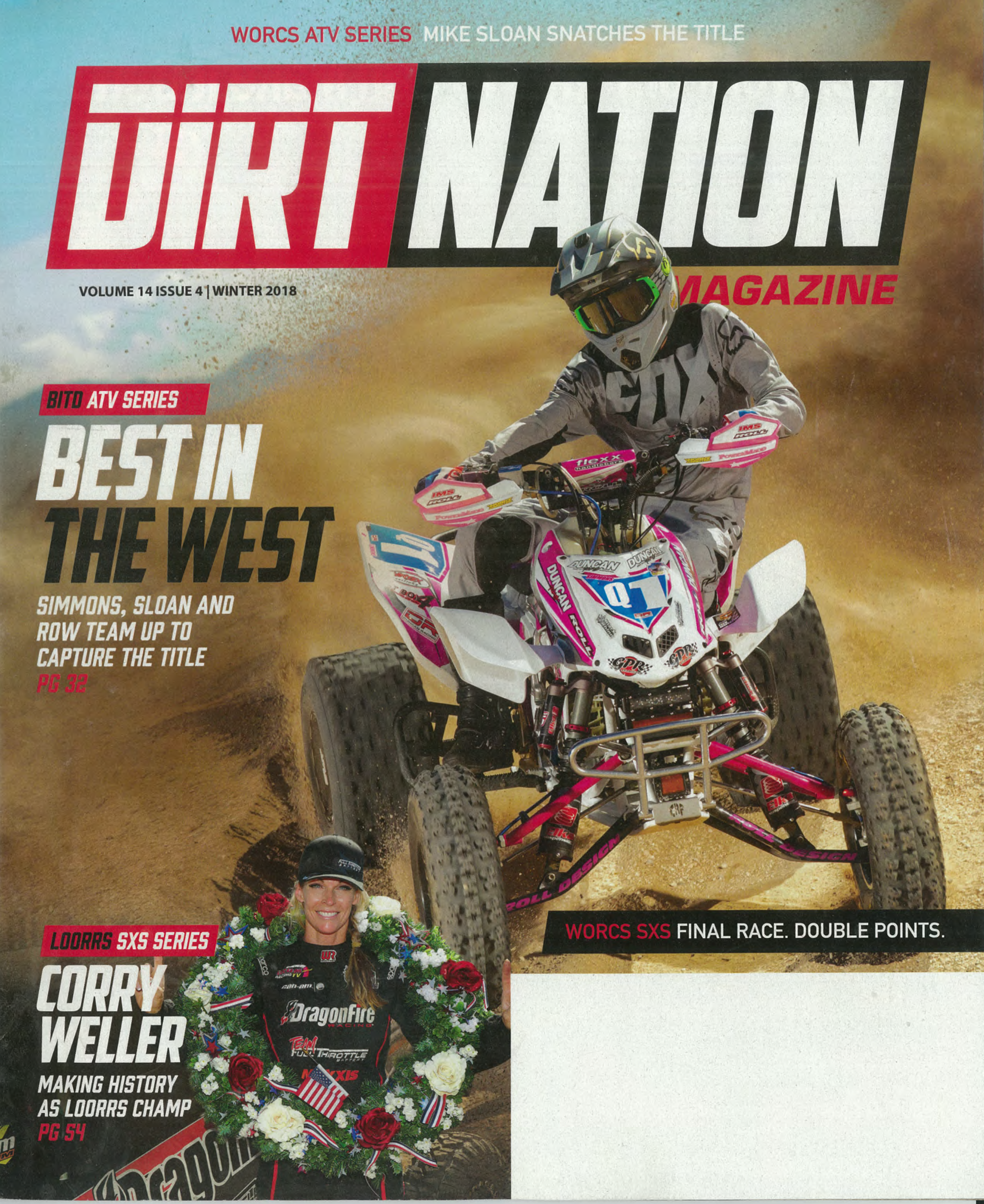 Dirt Nation Magazine 2018 WORCS Season Wrap Up