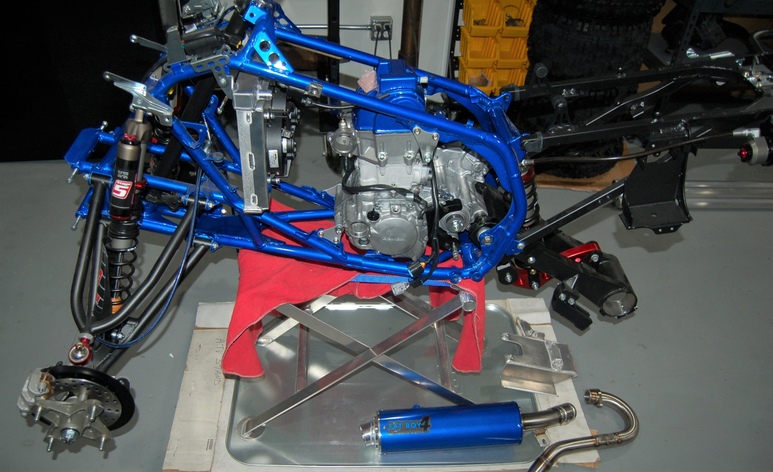 Simmons 14 TRX 450 B Build 5-22-19   .jpg
