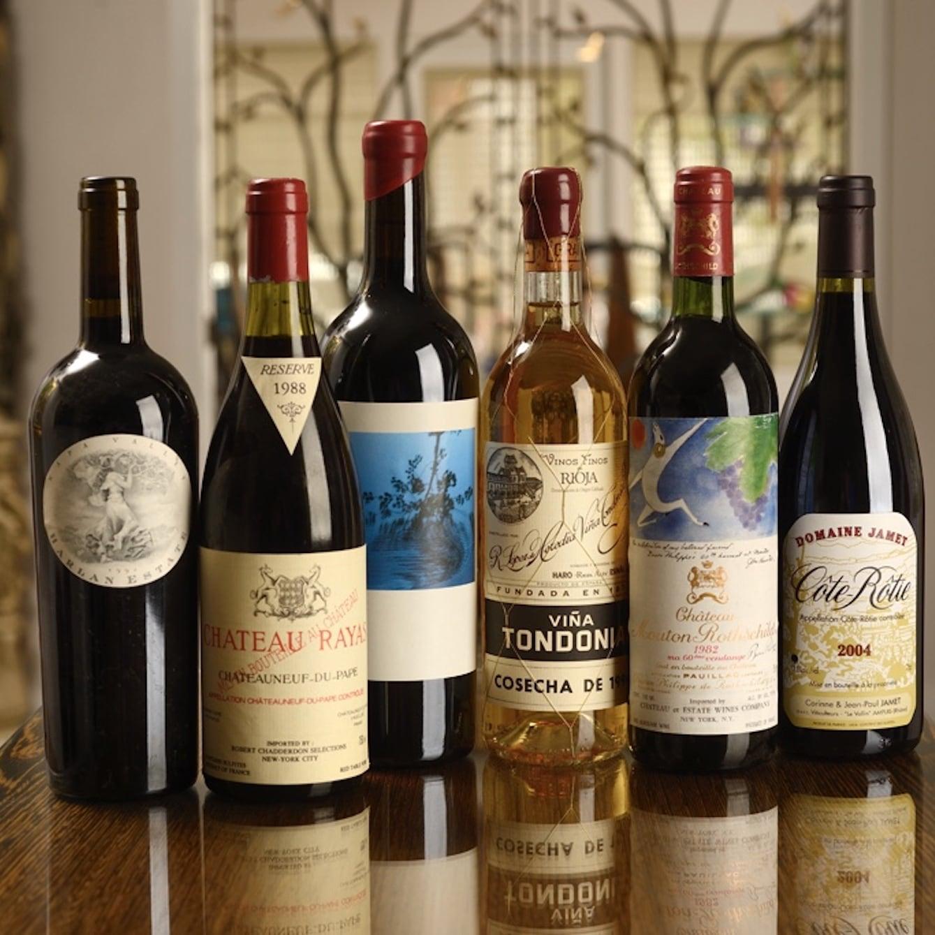 Wine List - 1921 Mount Dora Cellar Selections