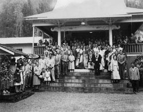 Kapapala Mission (Wood Valley Temple) circa 1955, Donald Shintaku