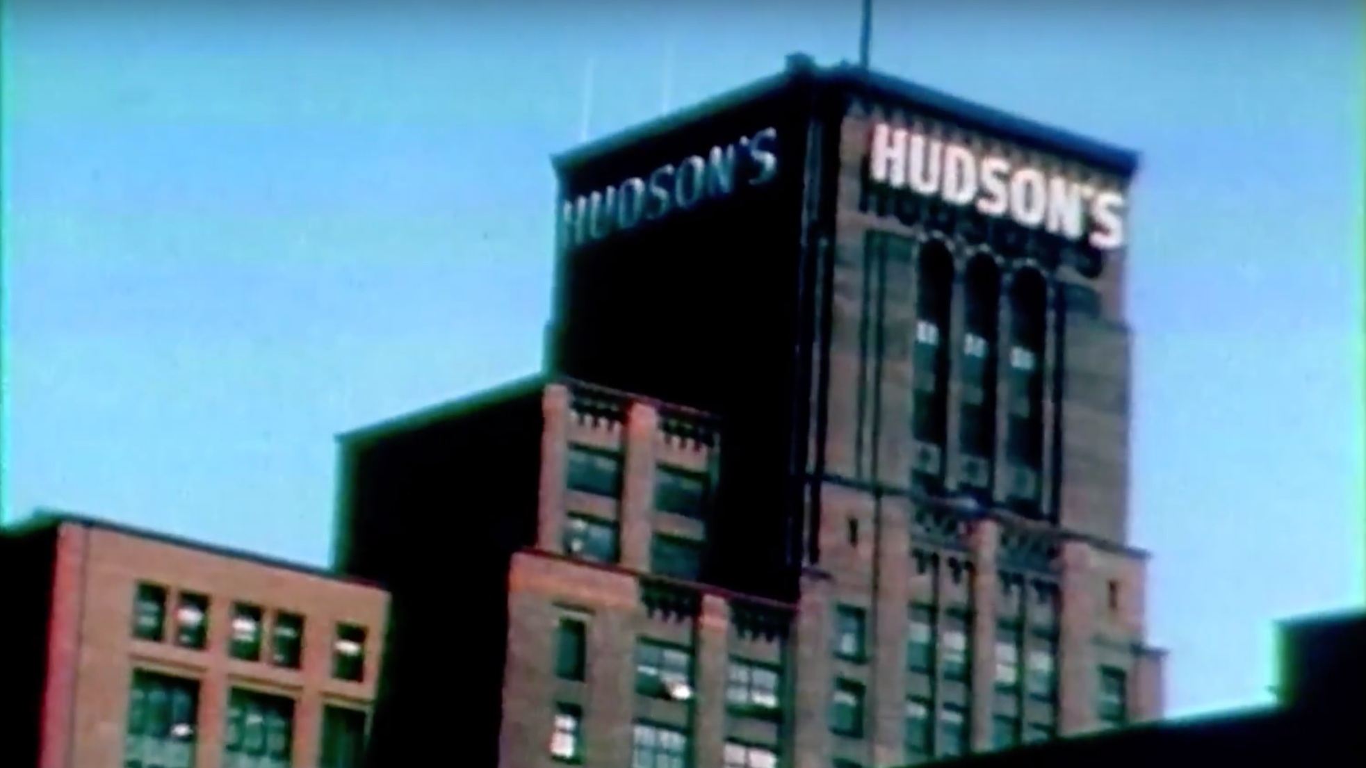 HUDSON'S DETROIT GROUNDBREAKING