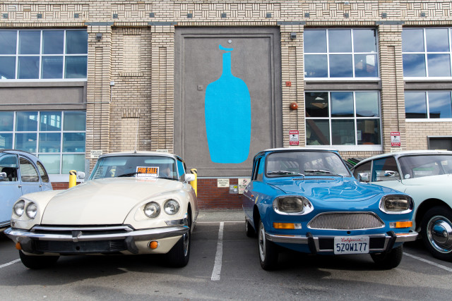 San Francisco Citroën Club at Blue Bottle Oakland