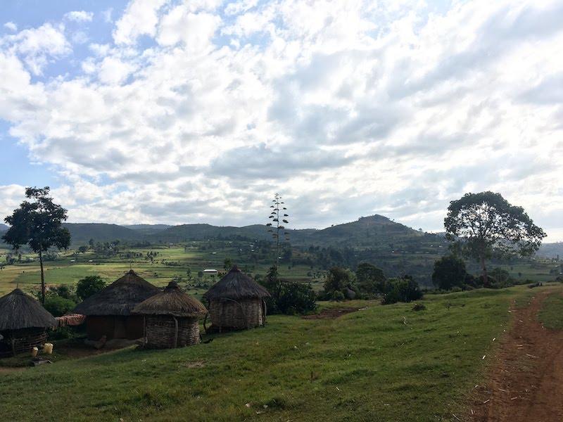 The Kaproron parish on Mt. Elgon, Uganda