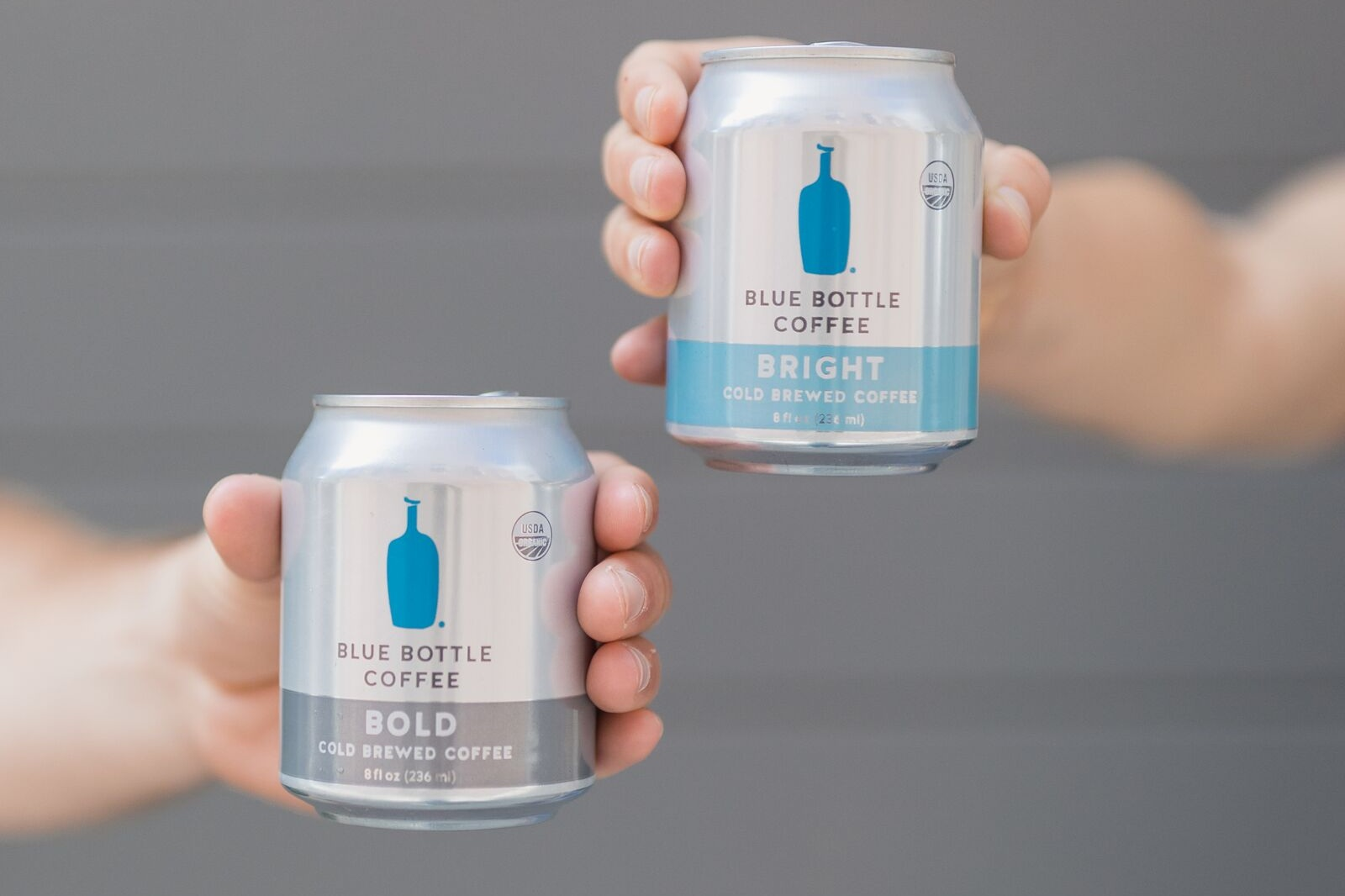 Our organic two new cold brews span the coffee spectrum—with no added flavors.
