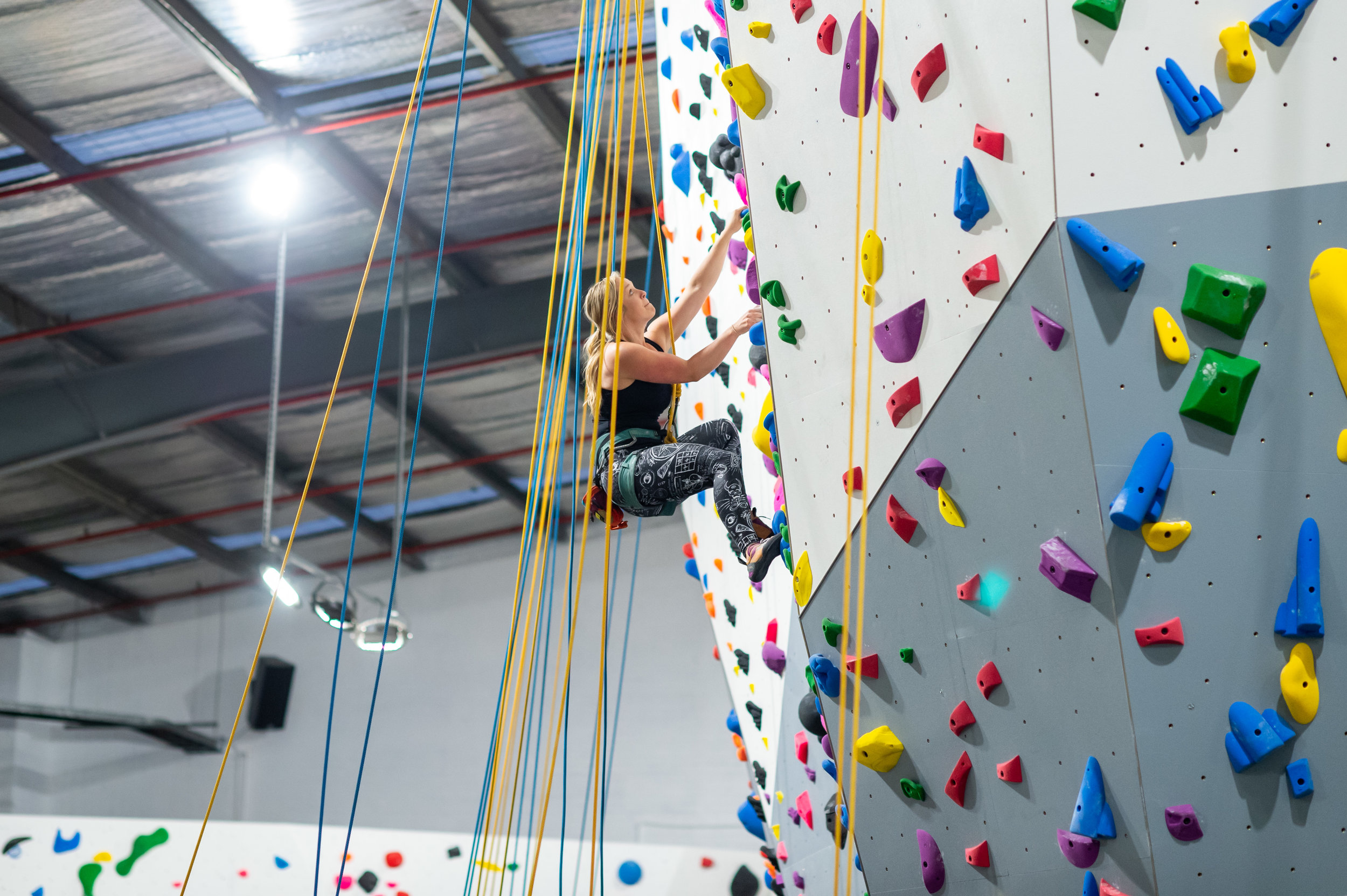 Ladies Social Climb - Meet every WEDNESDAY Night at 7pm. Climb with other ladies who are looking for adventure (and a chat). All levels welcome. Normal entry/membership applies.