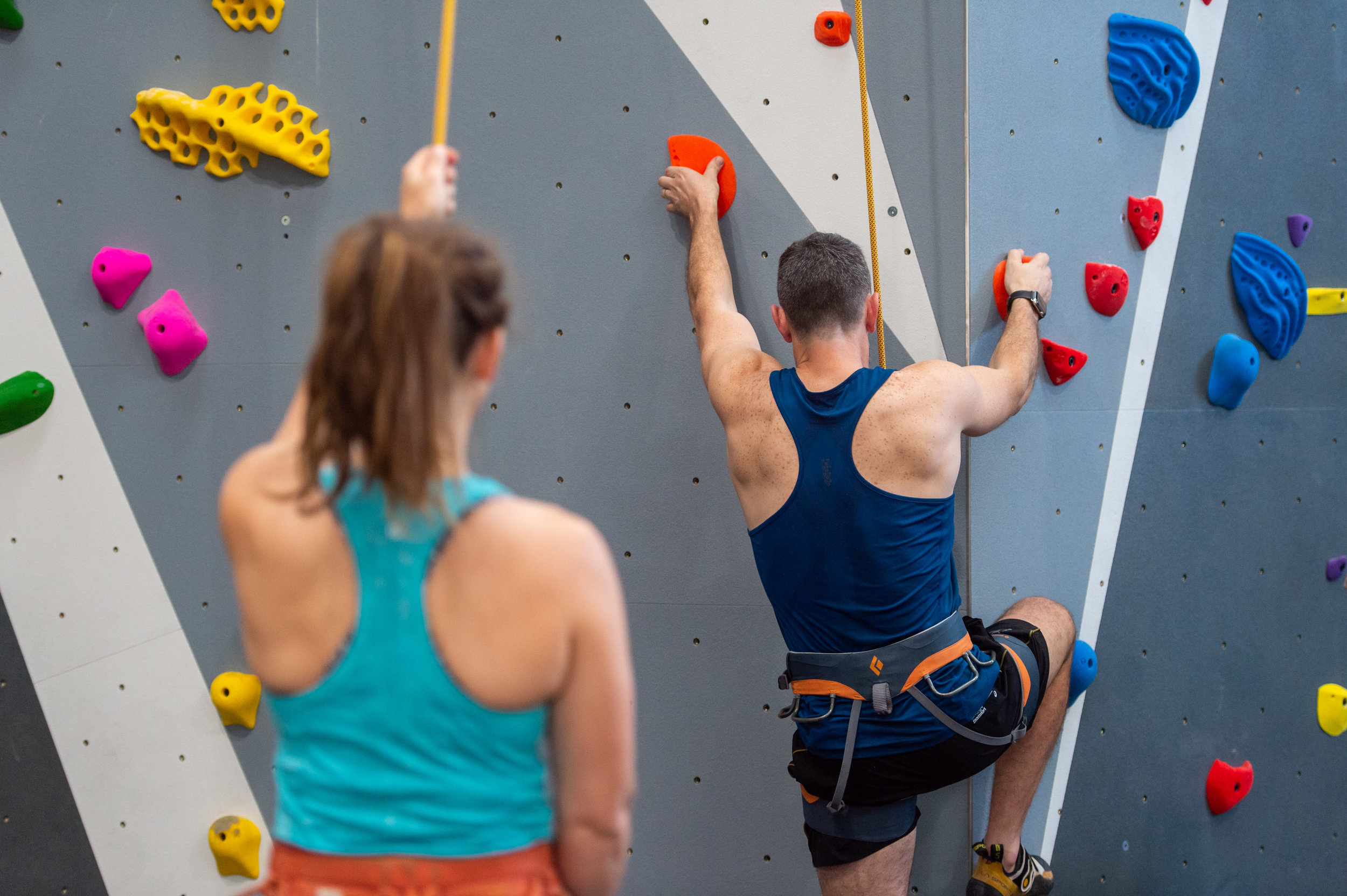 Beginner Clinic - Tuesday nights, 6-7:30pm. Run in a 4 week block. In this small group lesson our coach will run you through all the basic climbing techniques needed to have you moving like a rock star in no time!Bookings are essential. Check next start date HERE