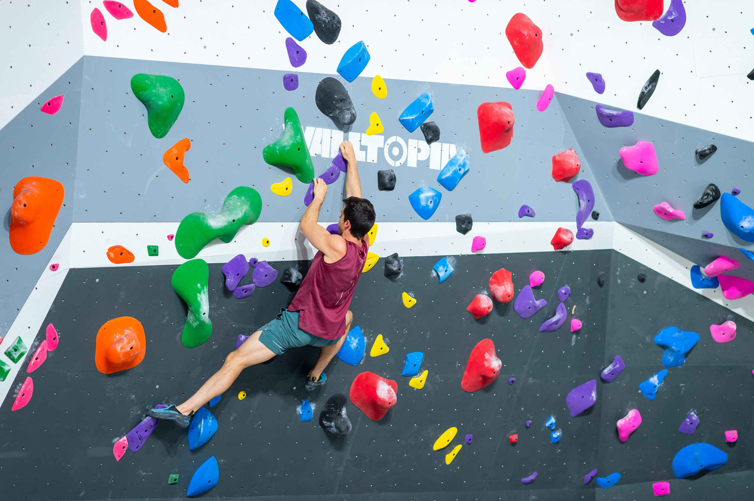 Bouldering in ClimbFit Kirrawee Center