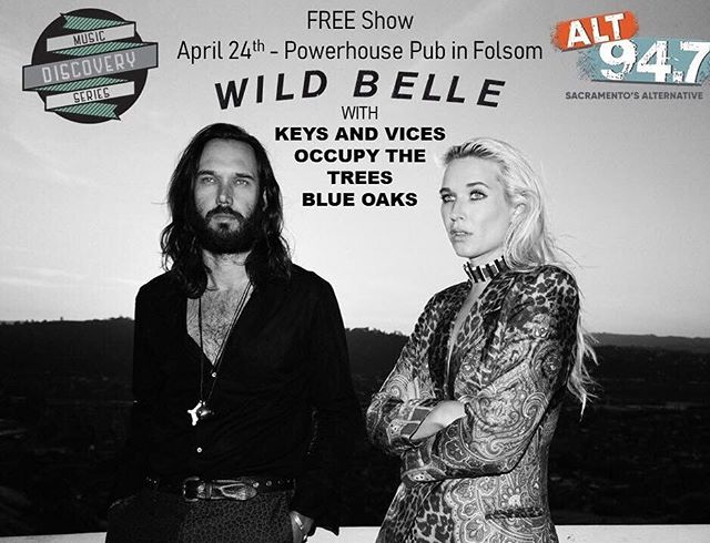 Take a break from the monotony of your week and come to a rock show next Weds! April 24th we are playing the Alt 94.7 Music Discovery Series show at Powerhouse Pub! Don't miss out on this lineup! Did I mention it's FREE entry?! Let's do this 🌟@alt947 @wildbelle @occupythetrees @blueoaksmusic #keysandvices #chronicnostalgia #musicdiscovery