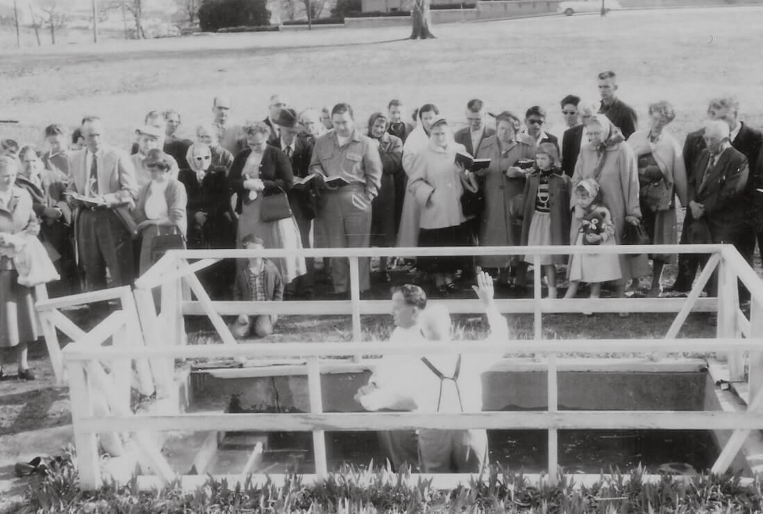 1957 M H Seibel Baptism