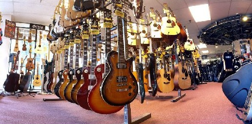 CITY MUSIC    Our go-to music store for all our music instruments and equipment needs.