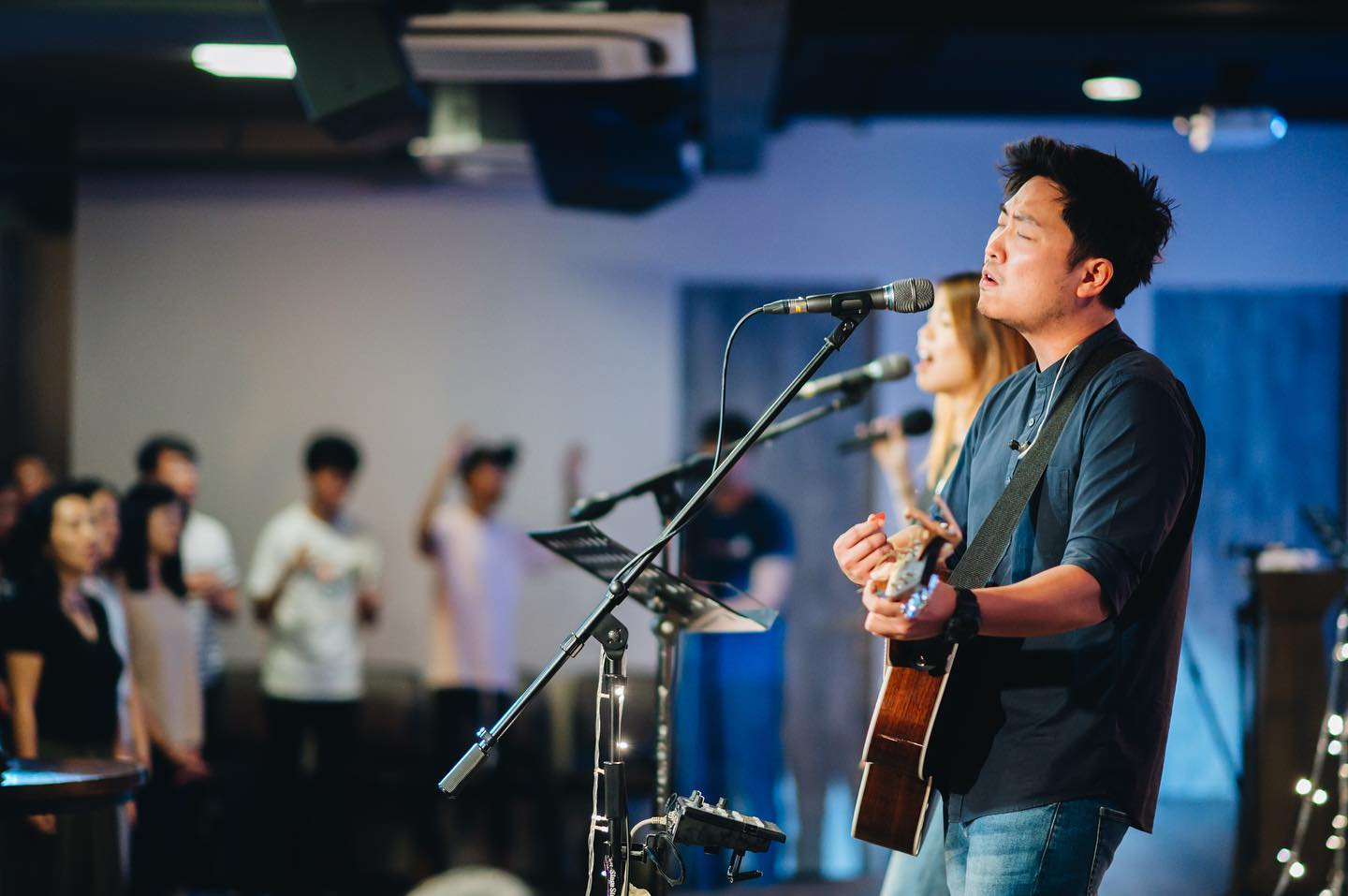 Revival nights - Besides convergences, classes, one-to-one mentoring, and electives, Awaken Generation also hosts monthly Revival Nights that take place on Wednesdays where students get an opportunity to serve on the worship team or simply soak and receive in a worship environment.