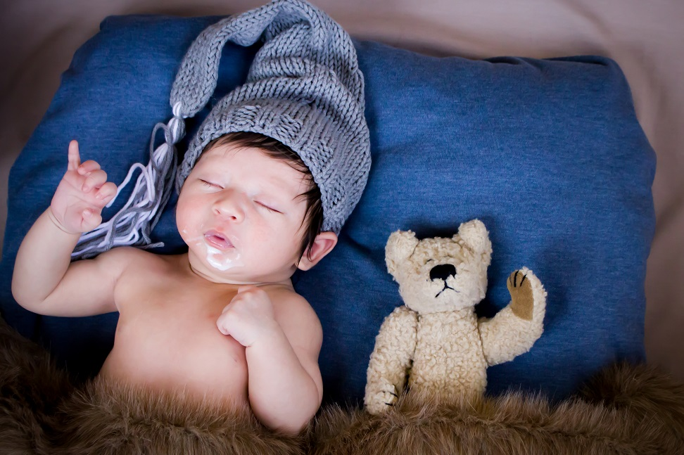 Newborn - In those early days of late night feeds and sleep exhaustion, don't miss a moment! Before you know it, your little bundle of joy will be walking and talking, and then on their way out the door to college.
