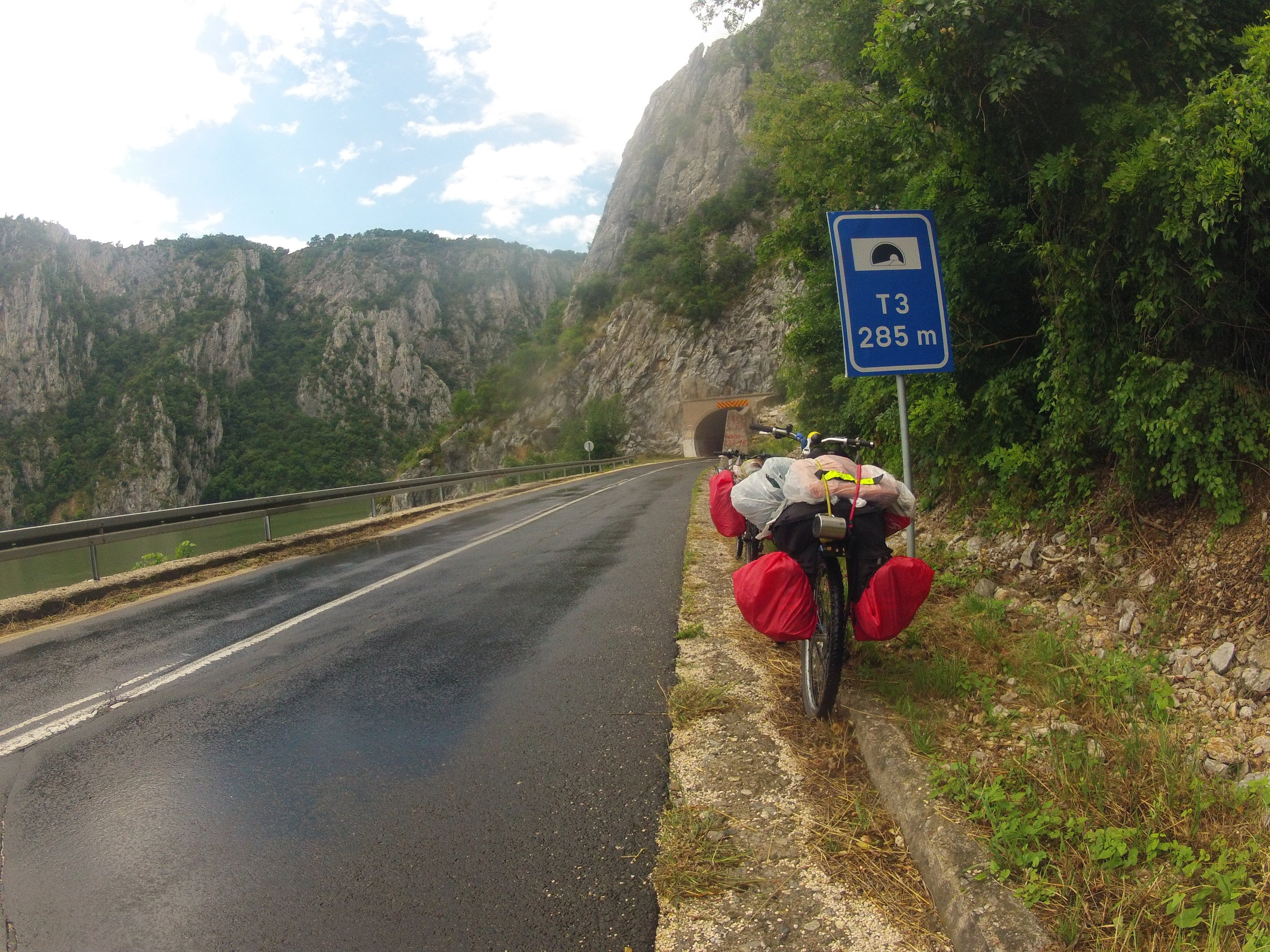 Source To Sea: Danube River - Cycling from the source of the Danube river in Donae-schingen to where it meets the sea in Constansa, Romania covering over 2000km.
