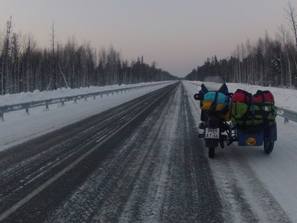 2500km Overland: Siberia - First all-female team to complete the Siberian Run, a 2500km motorbike race to the Arctic Circle through frozen Siberia.