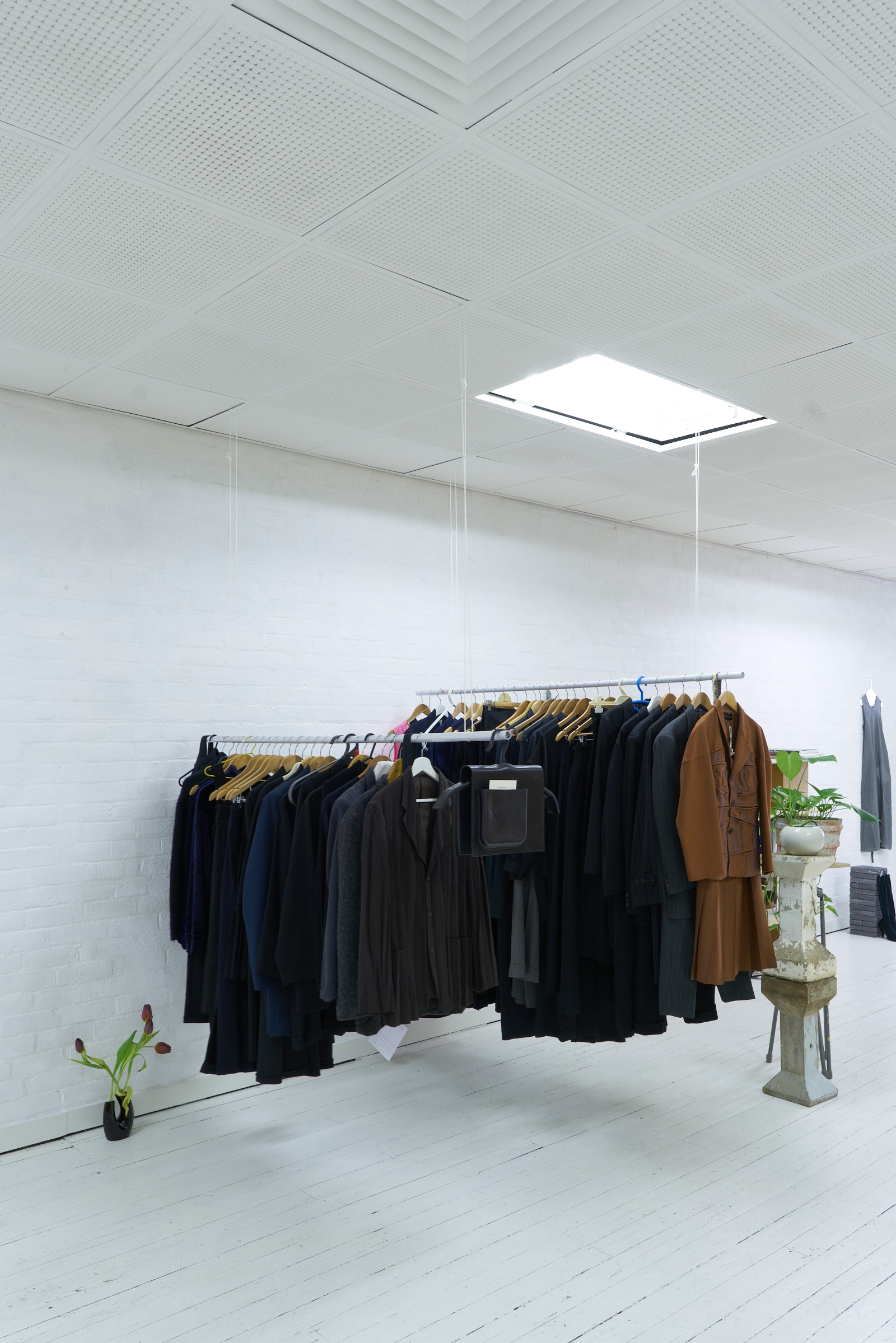 hangers installation view