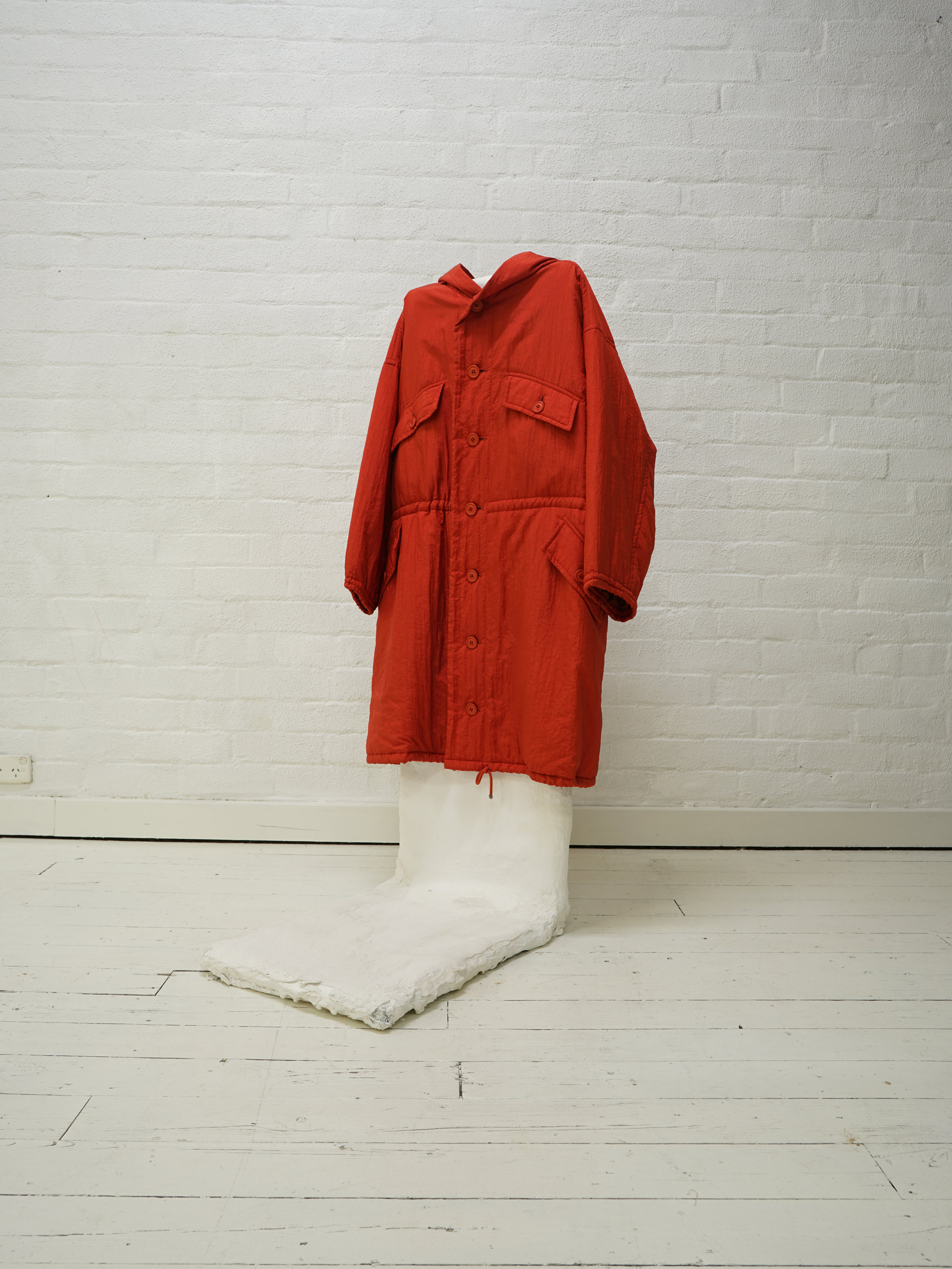 late 70s windcoat/ issey miyake multi-pocket hood coat from the filter store collection