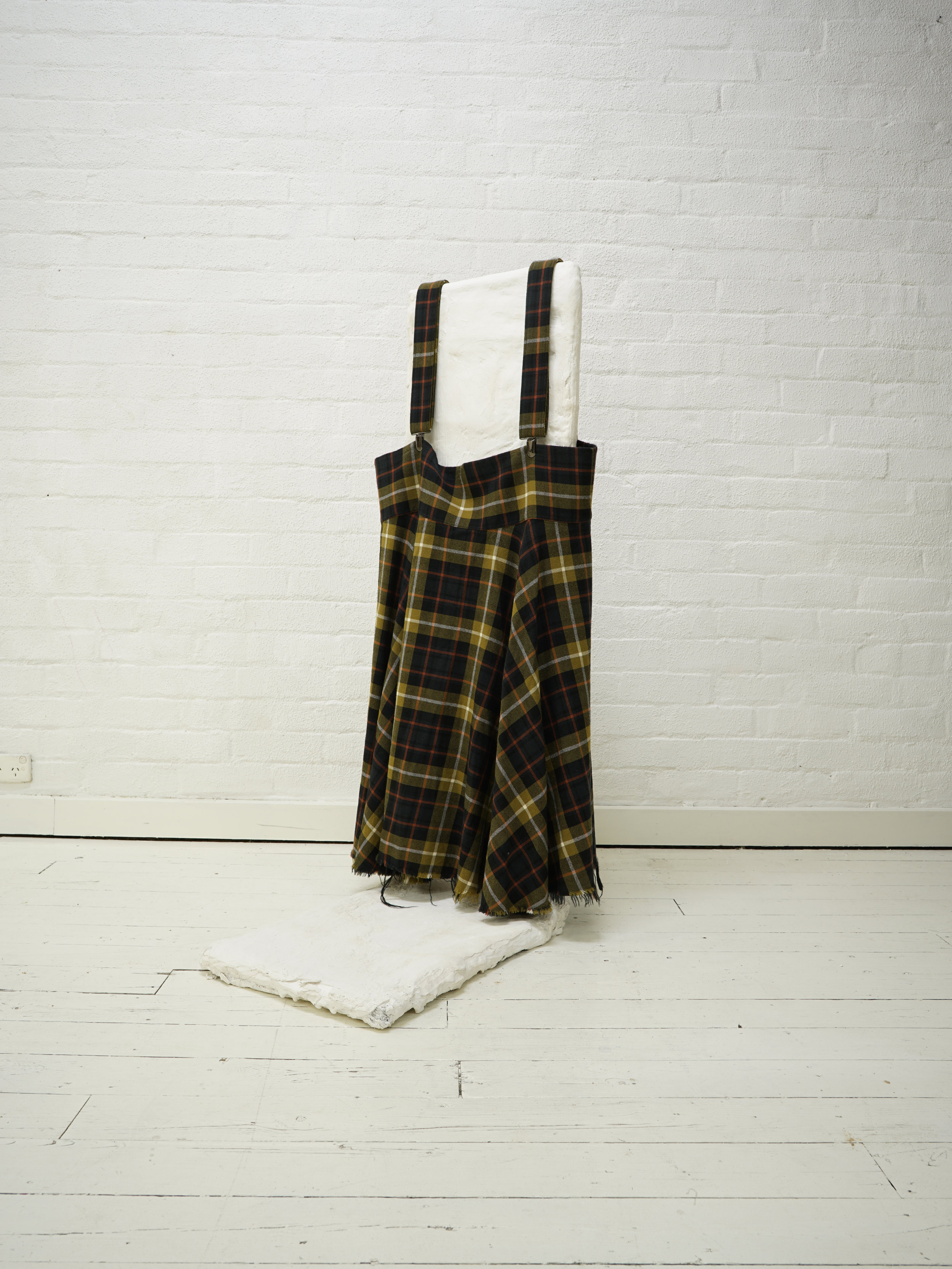 y's flared suspender skirt from the filter store collection