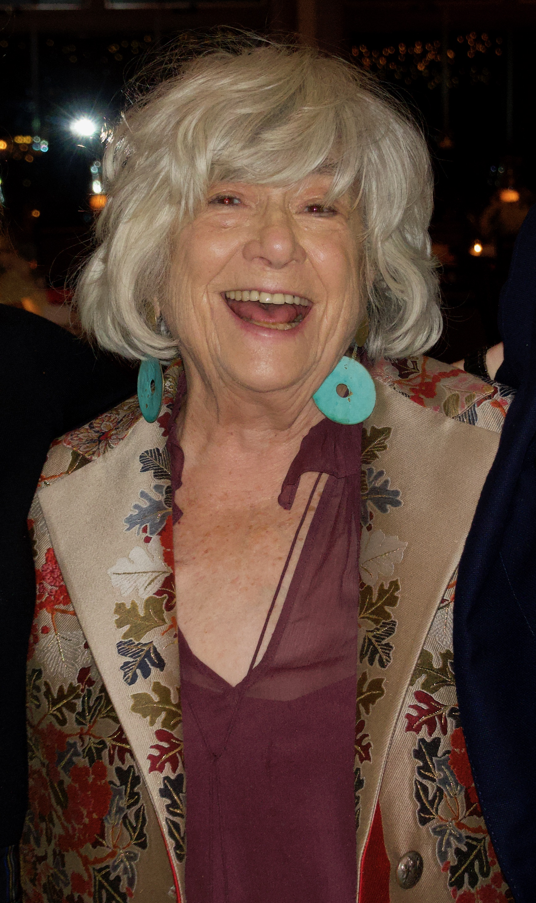 """Things changed about my work with aging. I have a better sense in telling stories. I was never better than in my later years - Susan Wood Richardson, photographer, founding member of the Women's Forum and author of the book """"Women"""", a collection of portraits of the most influential icons of the 20th century"""