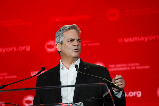 Proud of our Mayor Steve Adler, who chair's the U.S.C.M. Task Force on Technology and Innovation