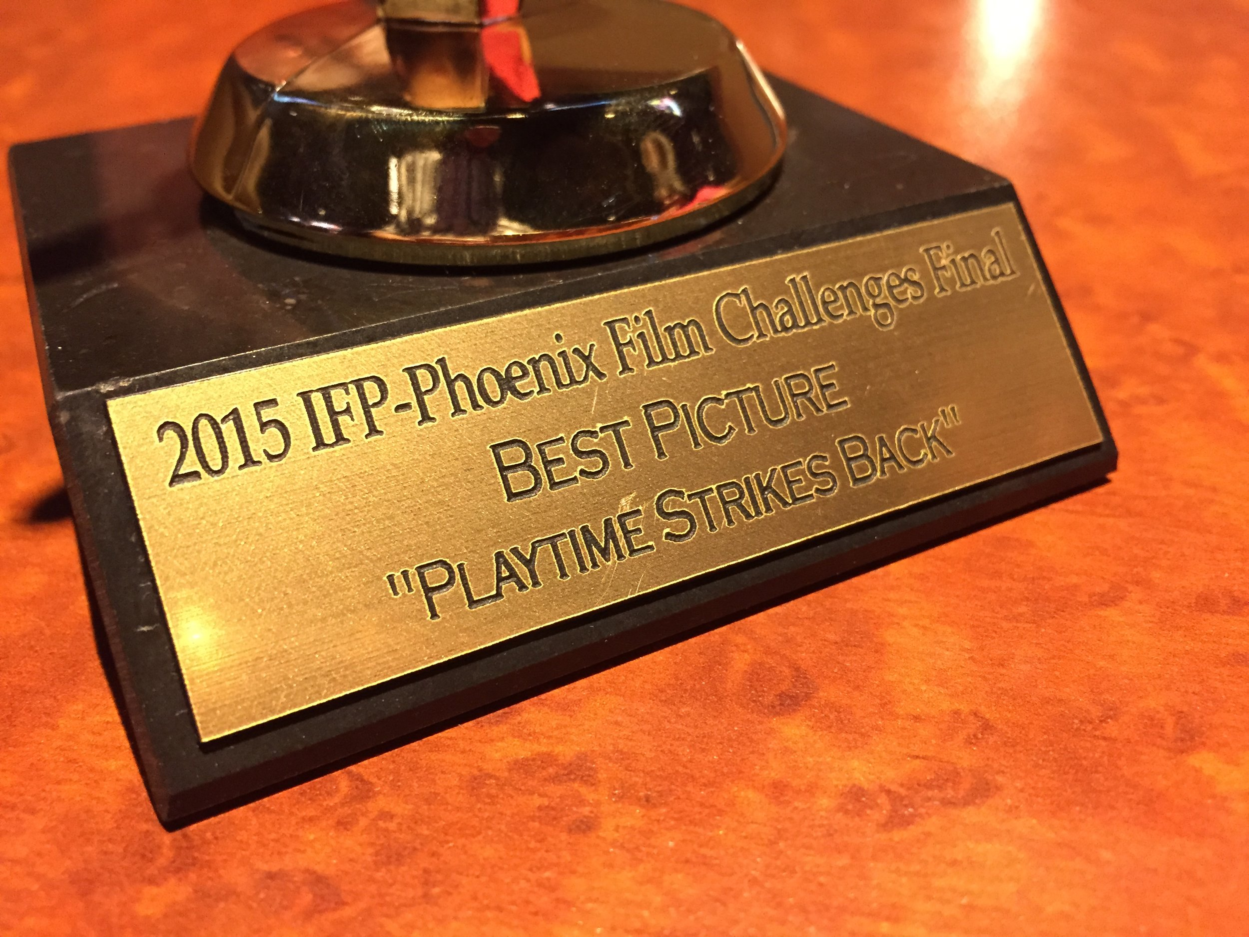 1st Place Best Picture - IFP Film Festival - Audience Award/Best Trailer/Best Use of Theme/3rd Place IFP Challenge
