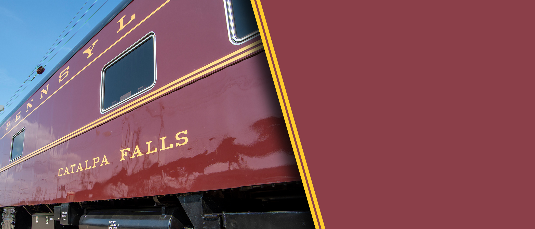 Rent a private   Railcar    Learn More