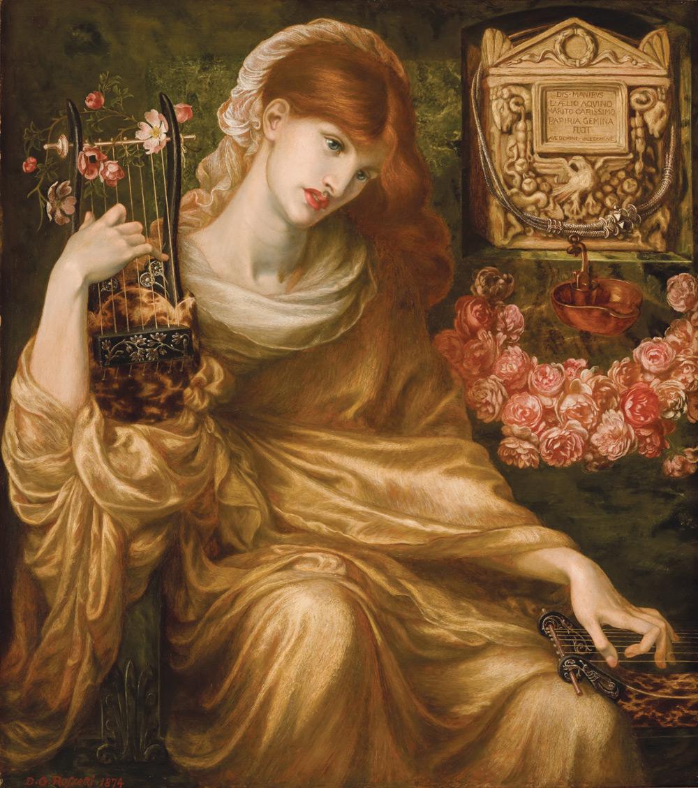 """""""La Viuda Romana (The Roman Widow)"""" - 1874"""