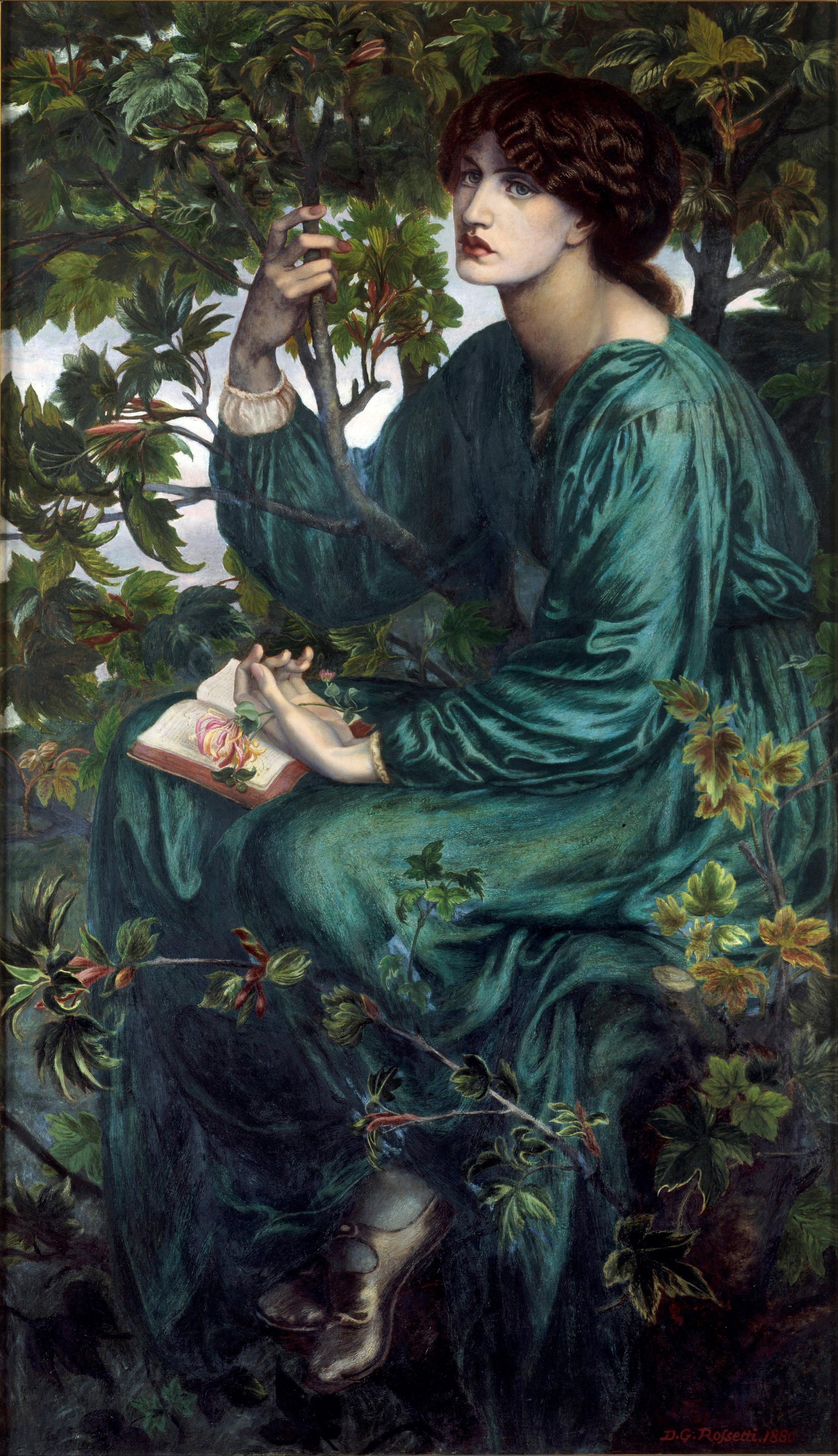 """The Daydreamer"" - 1880"