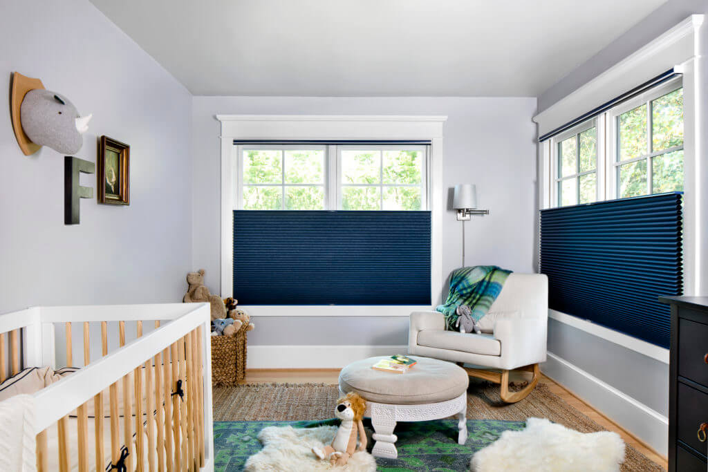 Cordless Honeycomb Shades    A wonderful choice for child safe and energy-efficient cellular window treatments. Add a Top Down Bottom Up feature for custom light and privacy control.