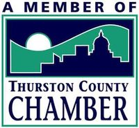 We are members of the Thurston County Chamber of Commerce.