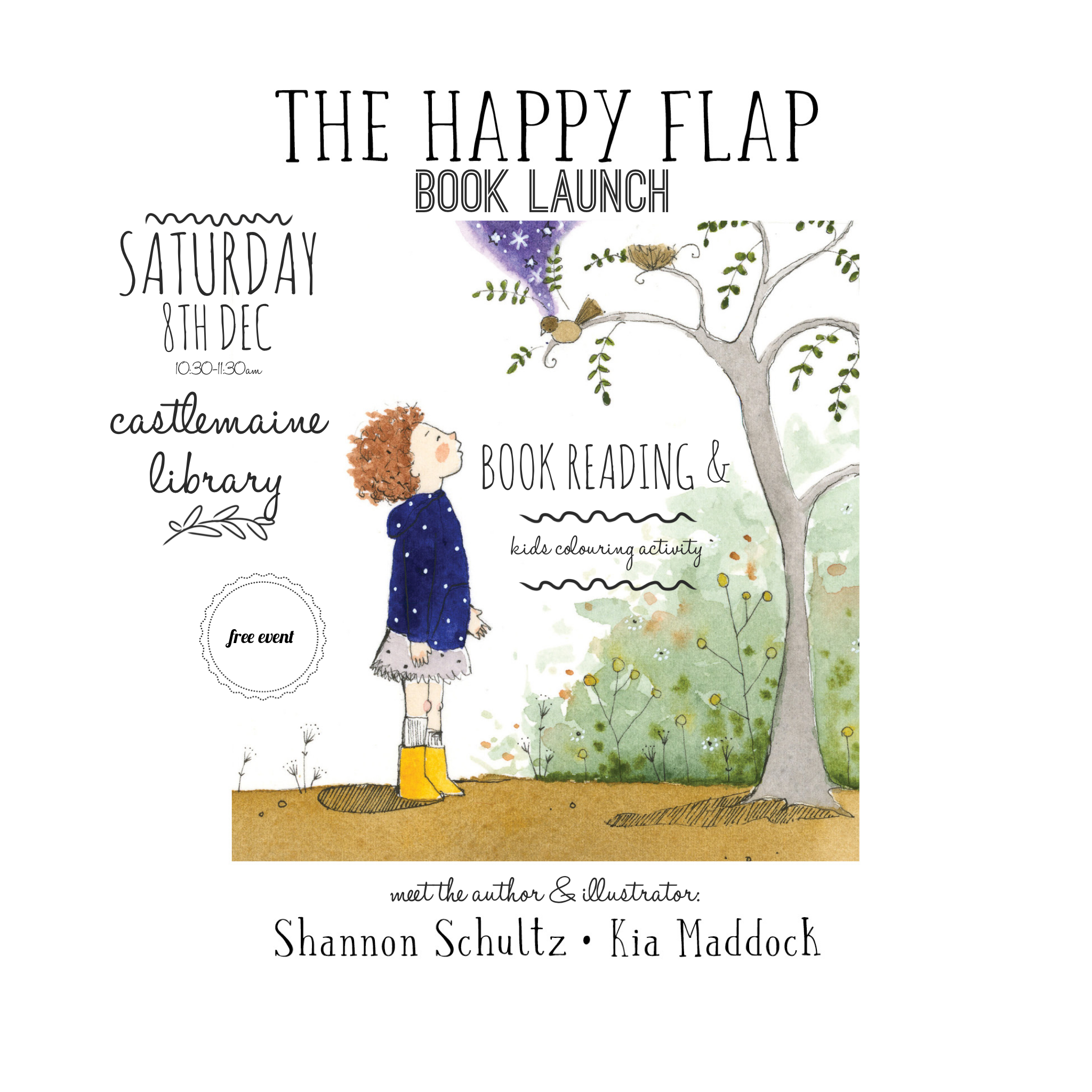 The Happy Flap Book Launch invitation.PNG