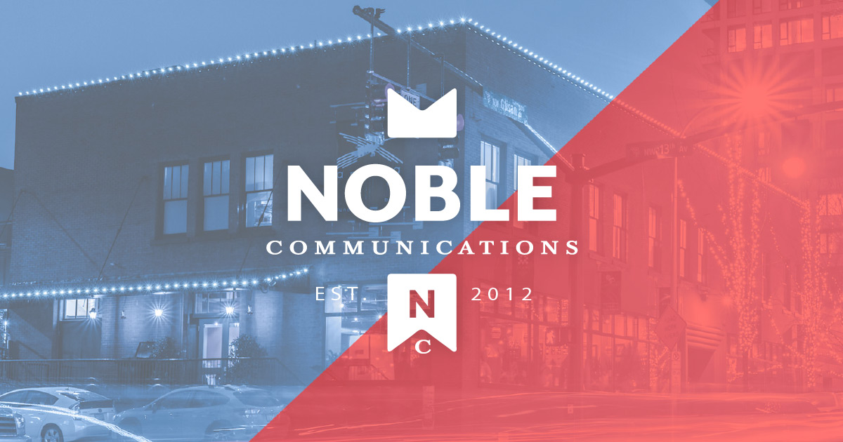 Noble Communications is located on NW 12th and Glisan in Portland Oregon