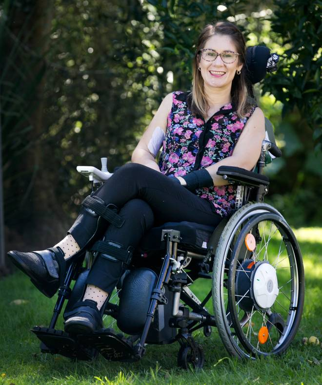 Kylee Black made a submission on the Euthanasia Bill from the perspective of a disabled young person last year. Photo / Alan Gibson