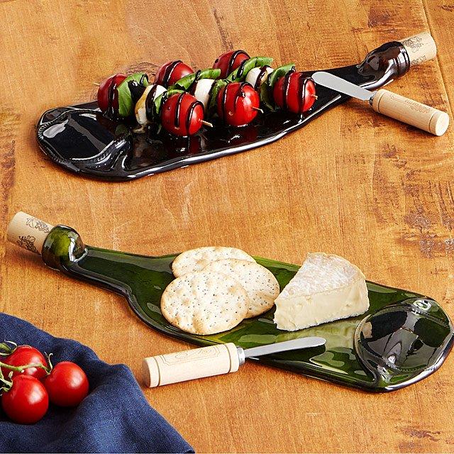 Wine Bottle Platter