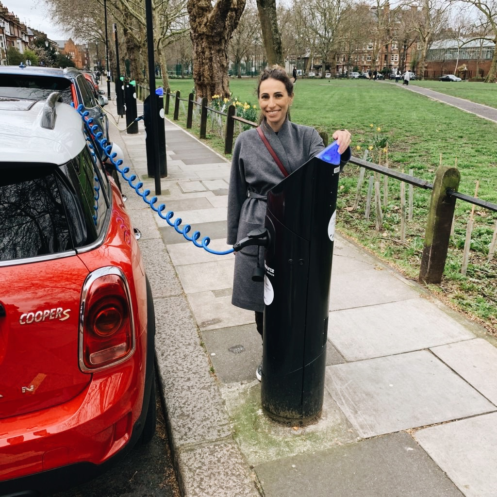 Charging our plug-in hybrid Mini Countryman with Source London chargers.