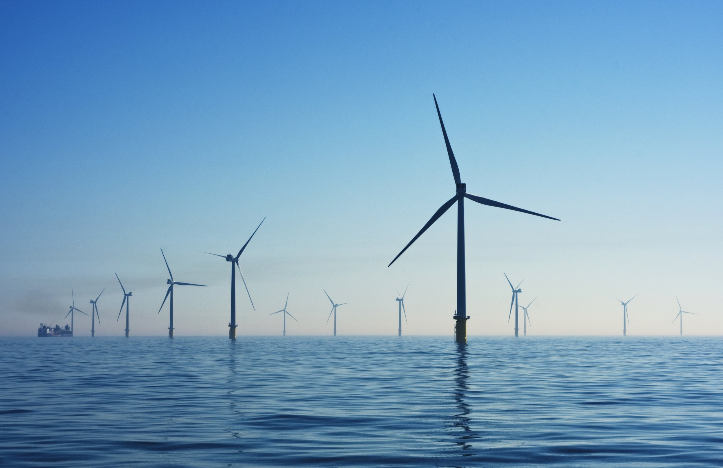 The London Array is the second largest wind farm in the world.