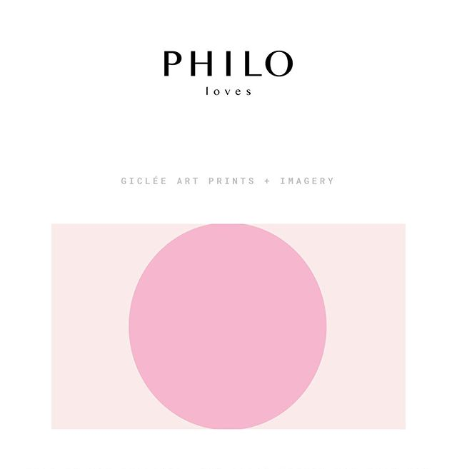 ➕ PHILO LOVES ➕ A home for my minimalist prints, some honest ramblings and my commercial gallery 📸 Link in bio 💕