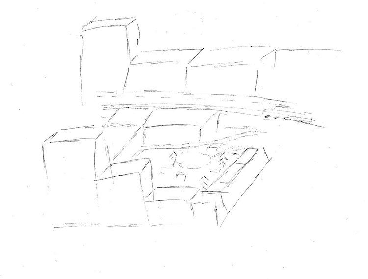 Abb. 3: Olivias Vorstellung von einem zukünftigen Zürich.