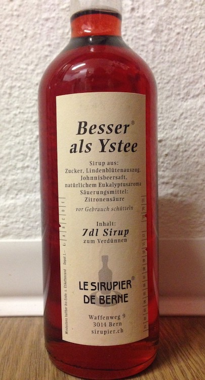 Abb. 3: Sirup von  Le Sirupier de Berne .