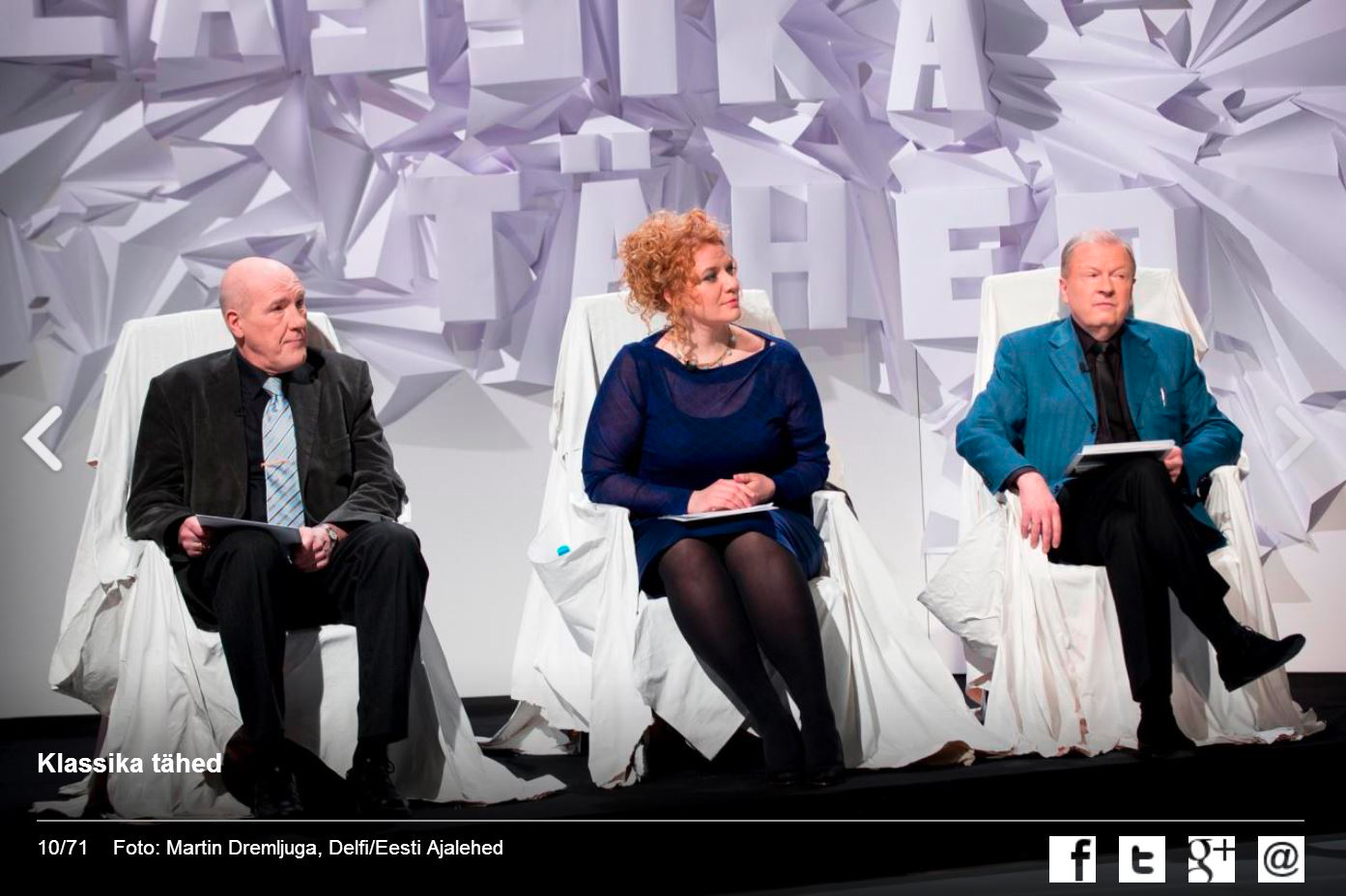 Aile Asszonyi on the jury of a national classical music competition (Estonian National Television)