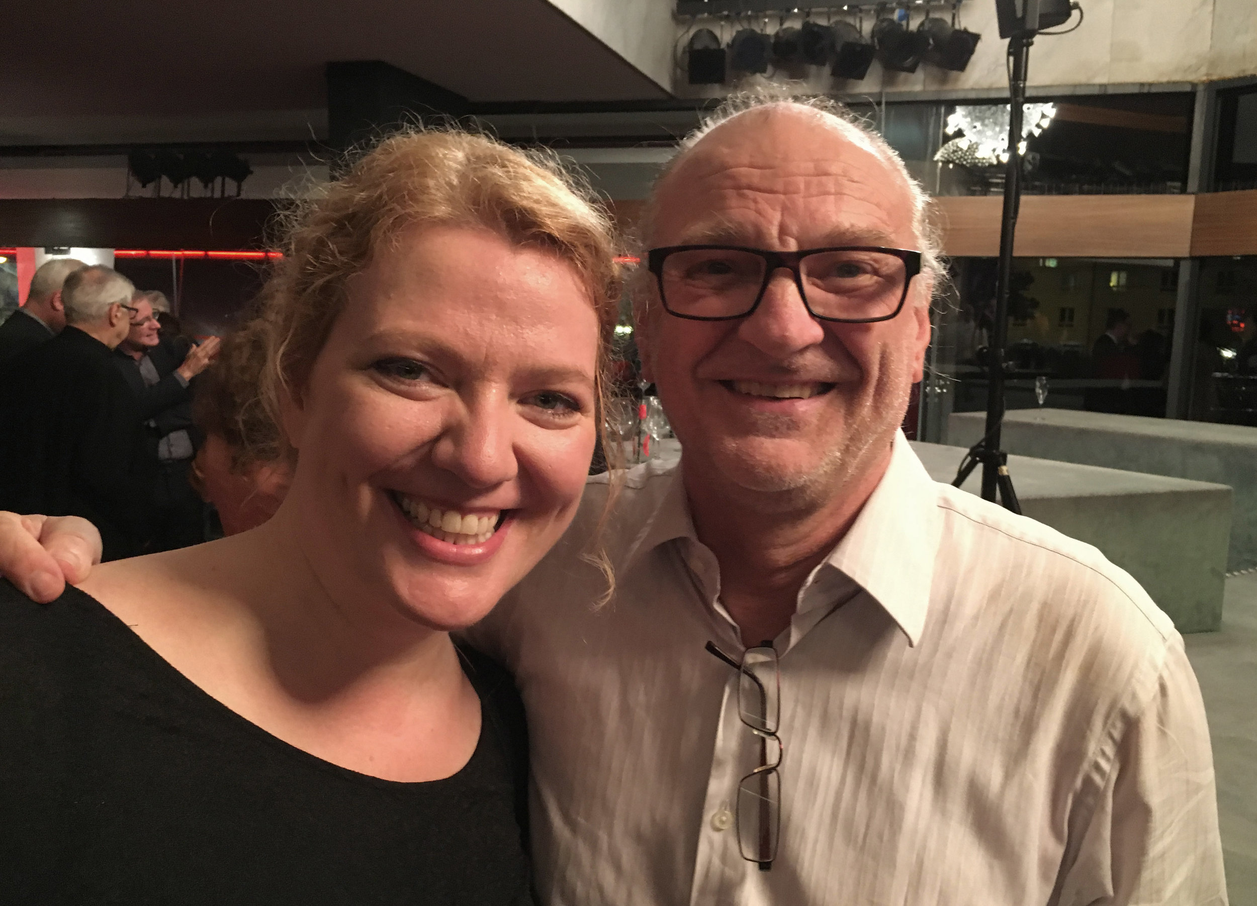 Aile Asszonyi and Peter Konwitschny (Bonn, 15 October 2017)