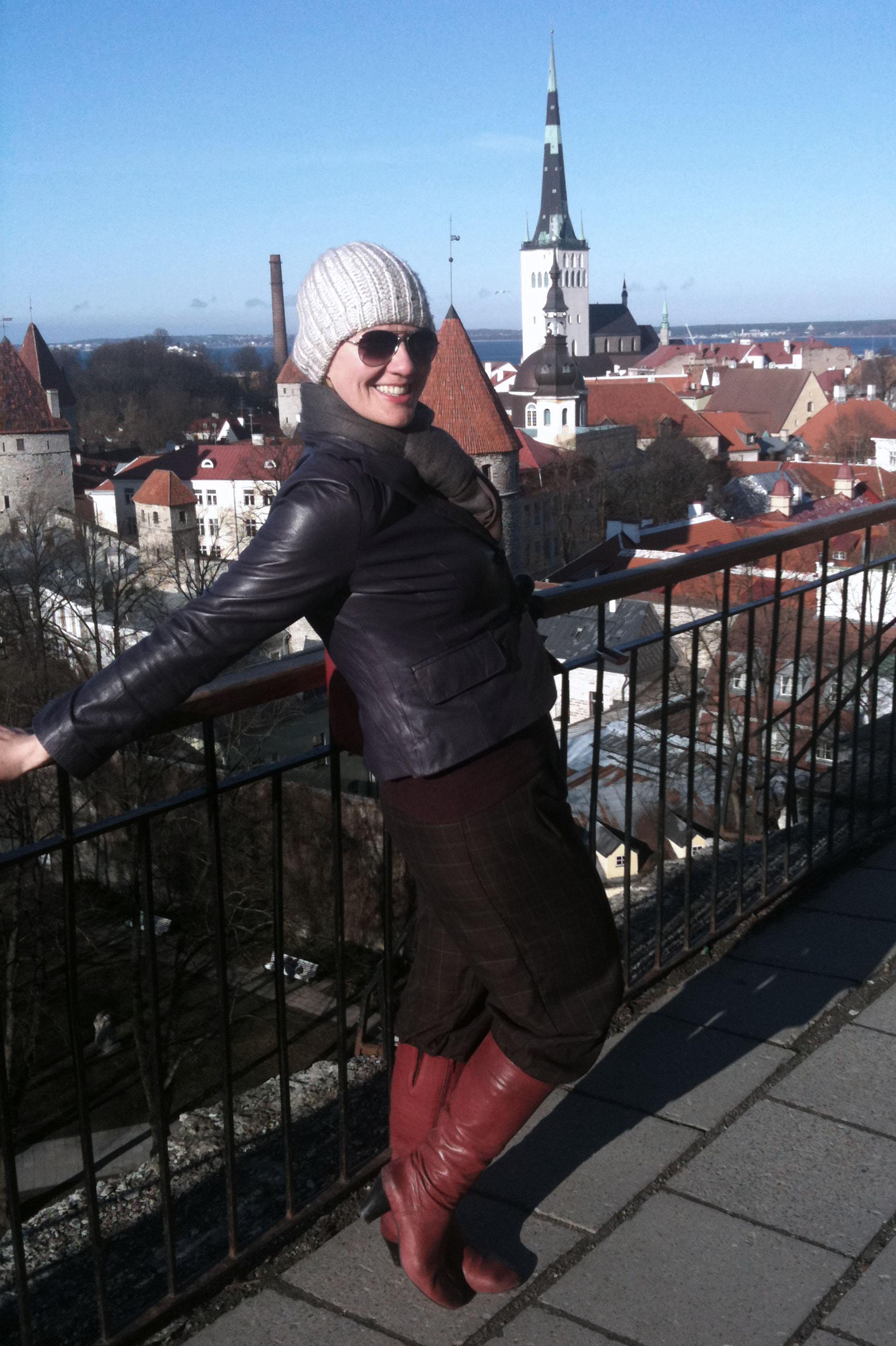 back in Tallinn