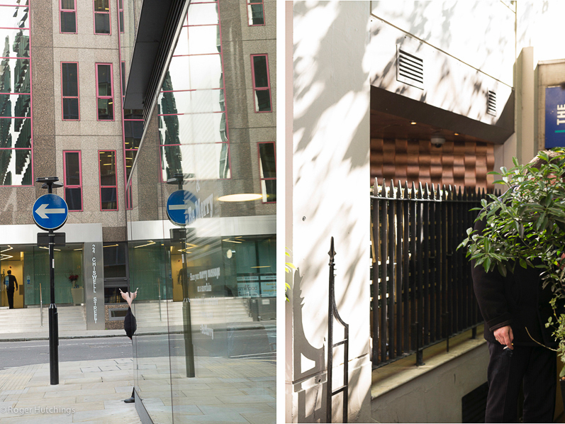 Zeitline # Moorgate, 2014 and London Mayfair, 2015