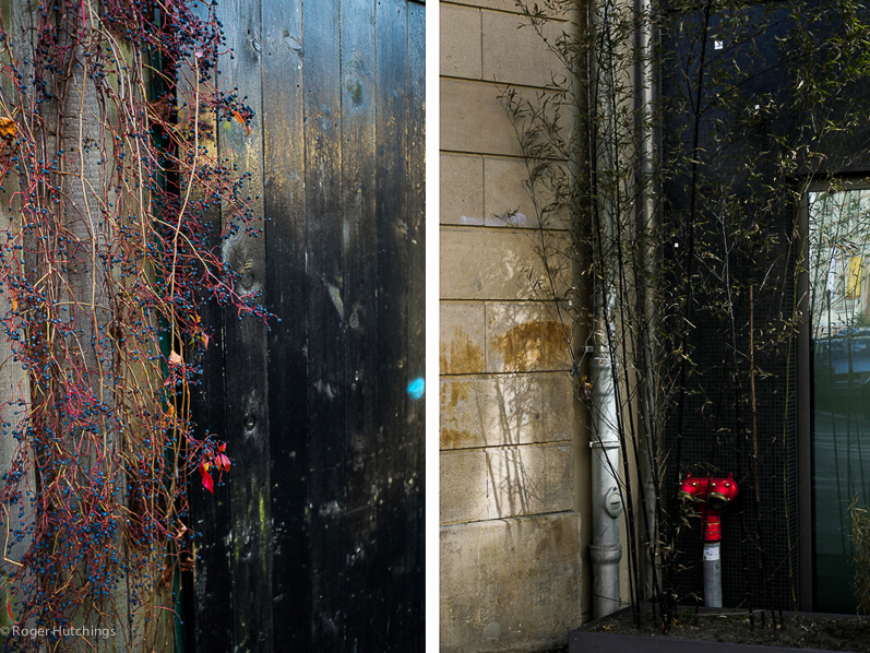 Zeitline # Balham, 2014 and Berlin, 2005