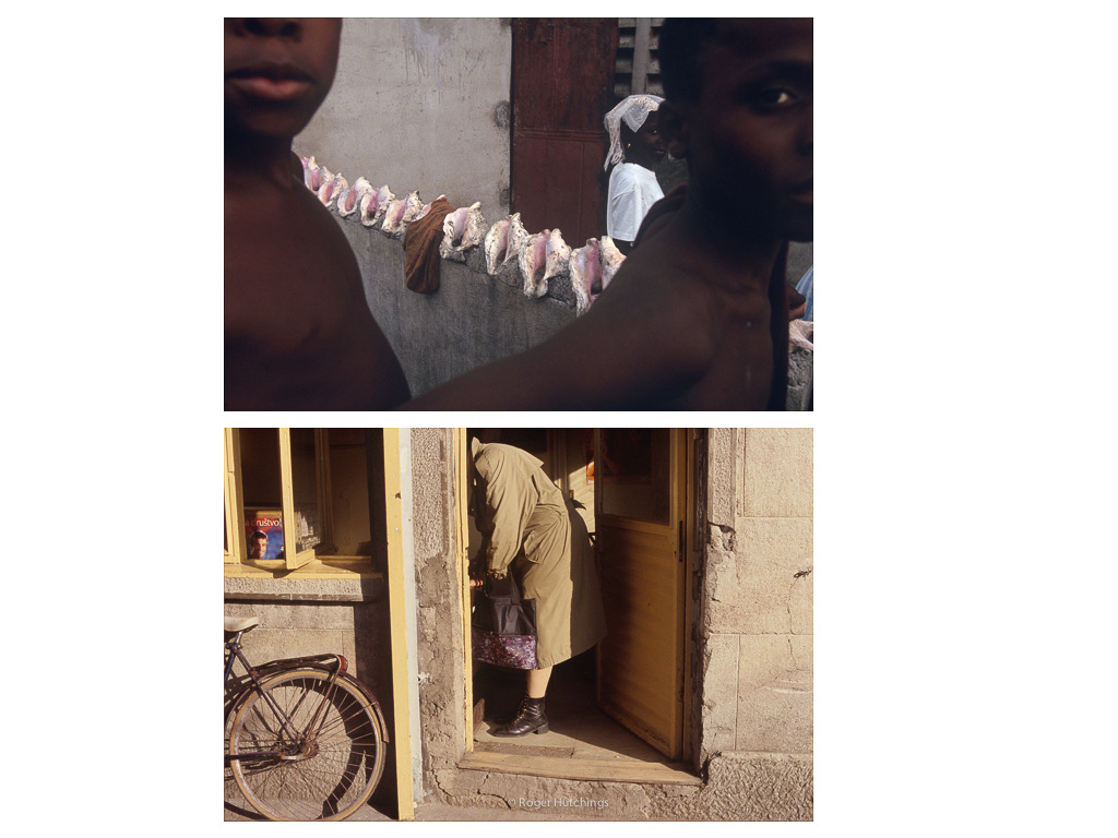 Roger Hutchings Zeitline # Citie Soliel, Haiti, 1993 and Montenegro, 2001