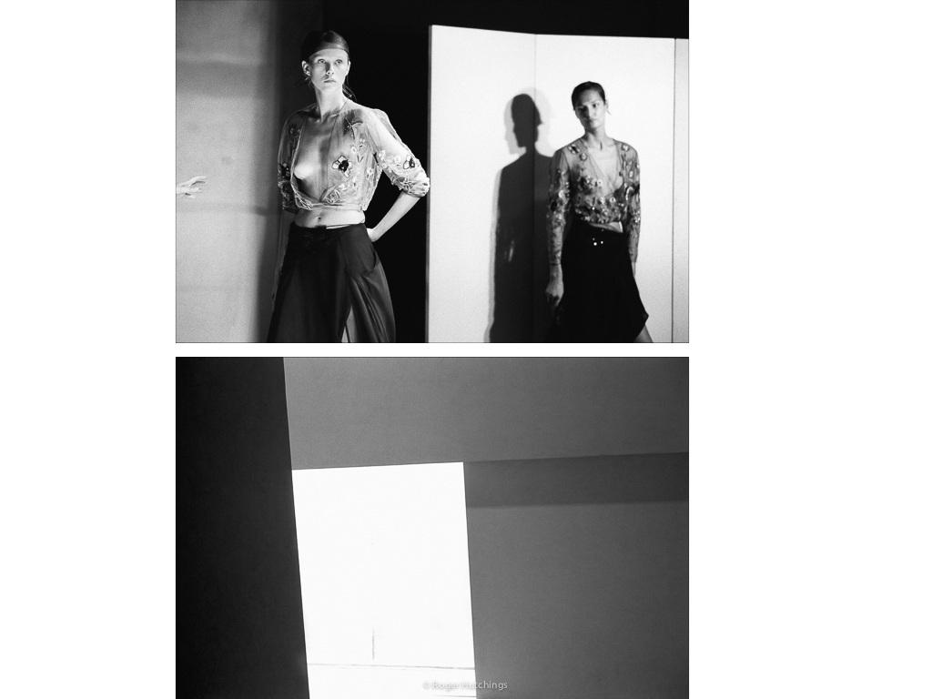 Zeitline # Teatro Armani, Milan, 2001 and Armani Models, Milan, 2001