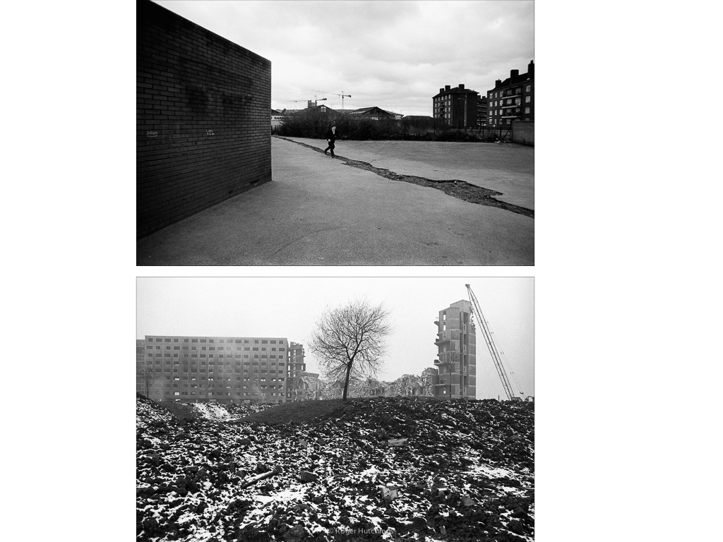 Zeitline # Docklands, 1987 and Manchester, 1985