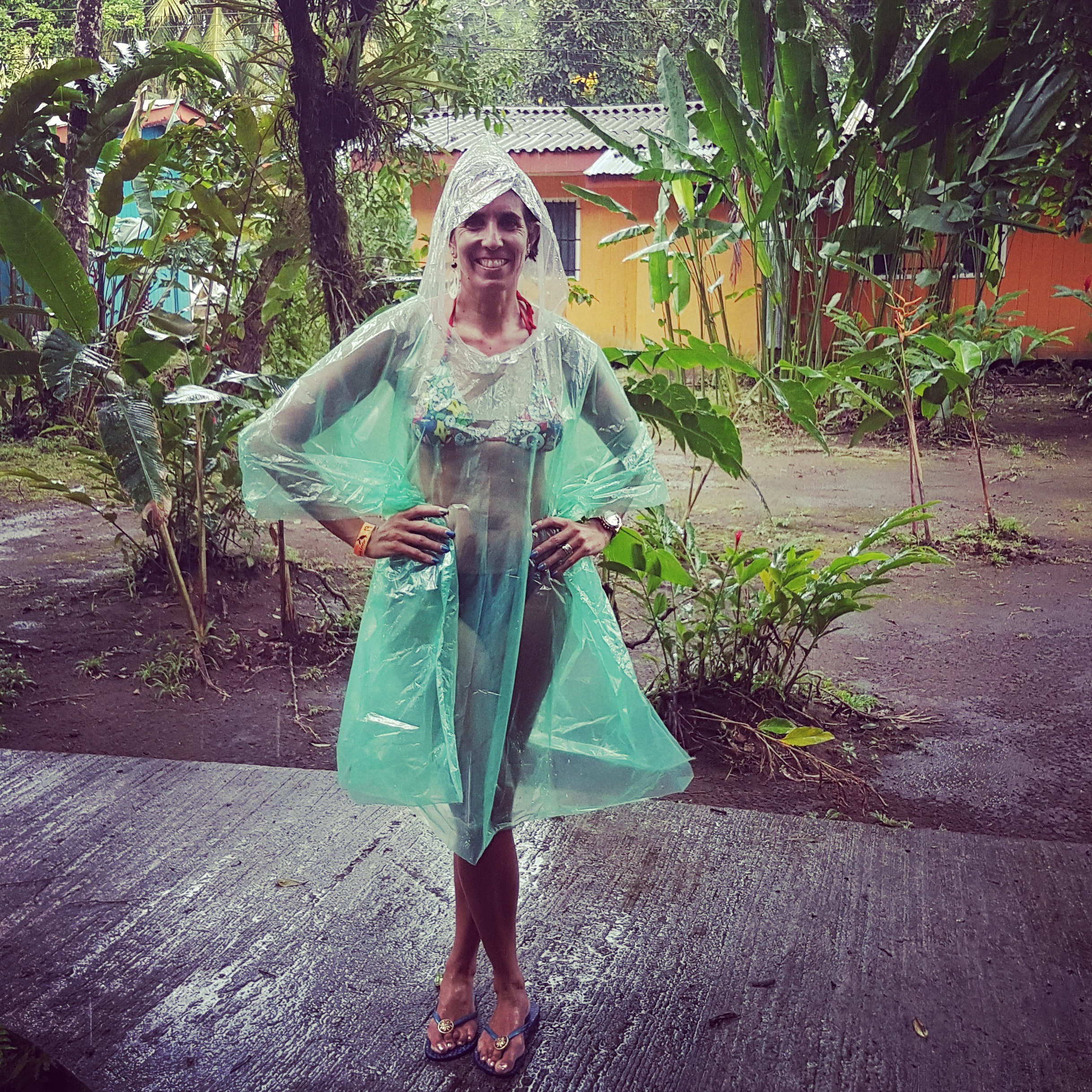 Introducing the rainforest's high fashion! A MUST have item when travelling around Costa Rica