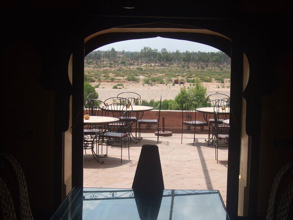 An oasis of sorts, Kasbah Le Mirage, Palmeraie